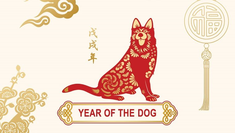 2018 Earth Dog: the Year of the Dog in the Manger