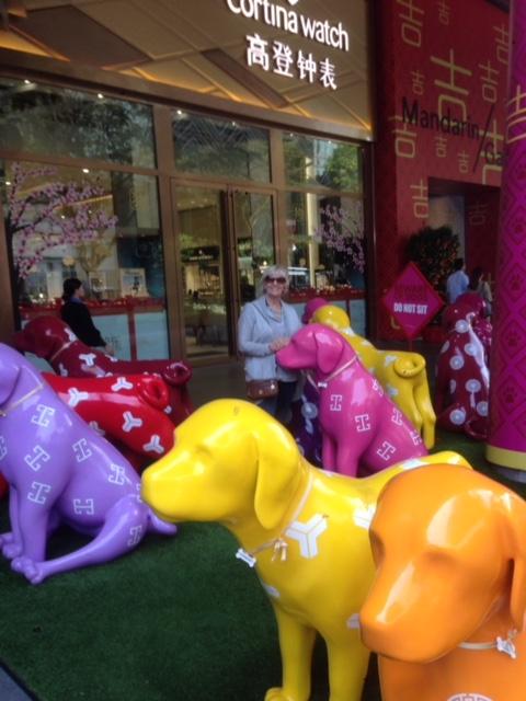 Singapore Celebrating the Year of the Dog