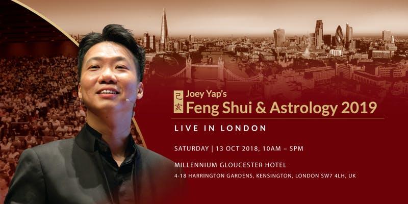 Joey Yap's Feng Shui & Astrology Live Seminar 2019: 13 & 14 Oct 2018
